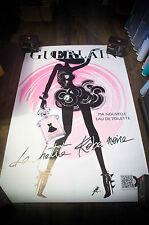 GUERLAIN LA PETITE ROBE NOIRE H 4x6 ft D/S Advertising Poster Original 2013