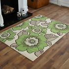 LARGE EXTRA LARGE CREAM BEIGE GREEN FLOWER DESIGN MEDIUM MODERN SMALL BEST RUGS