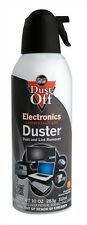 NEW! 1 Compressed Air Computer TV Gas Cans Duster 10 oz Dust Off Laptop Keyboard