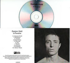 GWILYM GOLD A Paradise 2015 UK 10-trk numbered/watermarked promo test CD