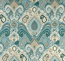 Outdoor/ Indoor ~ Upholstery ~ BOHO ~ Blue ~ Fabric~  per 1 yard
