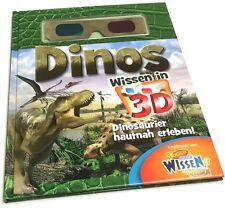 DINOS - Wissen in 3D (Die Welt der Dinosaurier hautnah erleben, mit 3-D Brille)