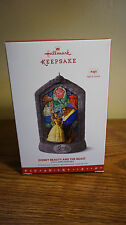 Hallmark Disney Beauty and The Beast 25th Anniversary Musical Ornament NEW MOVIE