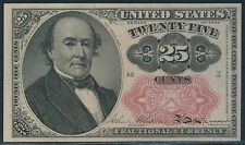 Fr1309 25¢ U.S. Fractional Currency - Choice Cu - With Pinholes Br4718
