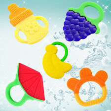 1Pc Soft Baby Kids Infant Safe Molar Silicone Utility Teethers Teeth Stick Toys