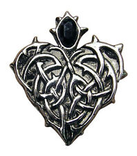 Barbed Vampire Heart Love Pendant Goth Wicca Ritual Mystical Jewelry Pagan Briar