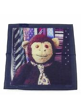 Genuine Paul Smith Handkerchief- Tied Up Mr. Brown Handkie, Square/BNWT