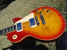 1995 Gibson Les Paul Classic Premium Plus 1960 60 Slim Neck Flametop  8.5 lbs.