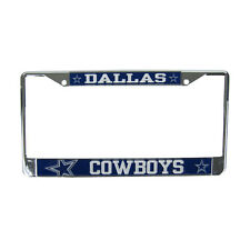Brand New NFL Dallas Cowboys Car Truck Universal Fit License Plate Frame