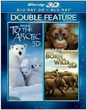 To the Arctic 3D/Born to Be Wild 3D (Blu-ray Disc, 2014, 3D/2D)