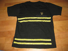 GUINNESS IRISH BEER IRELAND SUPPORT OUR FIRE FIGHTERS T SHIRT Sz L Black Stripe