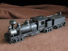 Bachmann Locomotive & Tender [UNDECORATED] -black - ho scale - loose - shay
