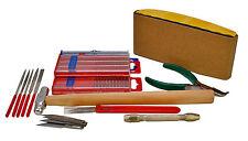 Modelo BARCO EDIFICIO & Craft Tool Set, bloque de lijado, archivos, Pin Vice Etc S7642