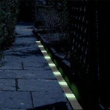 Glow in The Dark Solar Powered Lawn Yard Path Markers Perimeter Lights