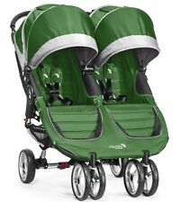 Side by Side Jogging Stroller Duallie Baby Jogger City Double Twin Fold Pram