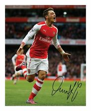 MESUT ÖZIL - ARSENAL SIGNED AUTOGRAPHED A4 PP PHOTO POSTER
