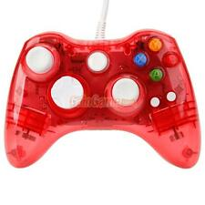 Red Afterglow Wired Controller Gamepad For Microsoft Xbox 360 PC Windows10