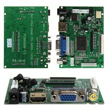 HDMI VGA 2AV Controladora Board LVDS 50 PIN TTL Monitor PI LCD AT070TN90/92/94