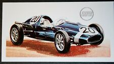 COOPER   1958 Racing Car     Vintage Colour Card # VGC