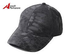 Airsoft Outdoor Tactical Adjustable Baseball Cap Men Snapback Hat Black Camo