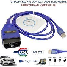 VAG COM KKL 409.1 OBD2 Scanner K-Line KWP2000 USB FOR VW/AUDI/SEAT