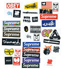 Supreme Classic Box Logo 34 X Skateboard Stickers Car Vinyl Decal Laptop Sticker