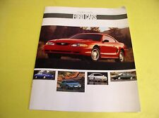 1994 FORD CARS BROCHURE MUSTANG ASPIRE TAURUS THUNDERBIRD PROBE ESCORT TEMPO