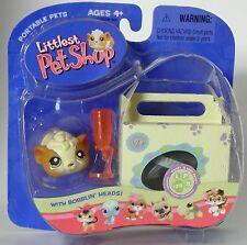 L1 Littlest Pet Shop 213 bobblin' head hamster with case  new in pack