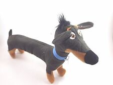 "The Secret Life of Pets 12"" Long BUDDY Wiener Dog Plush NWT boys and girls"