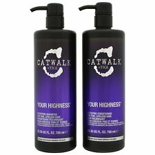 TIGI Catwalk Your Highness Shampoo and Conditioner 25.36 oz - NEW