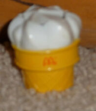 Vintage 1990 McDonalds Changeables McDino Ice Cream Cone transforming Toy