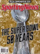 Sporting News Magazine The Super Bowl 50 Years …