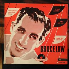7'EP Bruce Low  Tabak und Rum/+3   Polydor genähtes Cover 1956