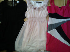 Bonito 7x paquete faldas vestidos de verano de fiesta señoras para mujer Talla 8 (1.4)