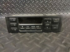 2002 MAZDA 626 2.0 TD GXI SE 5DR DIGITAL CLIMATE AC/HEATER CONTROL PANEL