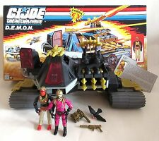 Gi joe action force ☆ démon + ferret + voltar ☆ boxed vintage Hasbro 88 nr 100%