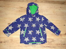 Gorgeous Boys BODEN Fleece Lined Anorak 3-4Yrs EUC
