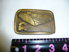 Vintage Road Machinery Belt Buckle by Hit Line USA