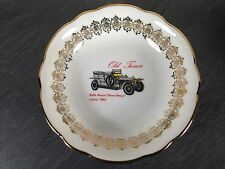 coupelle petite assiette porcelaine bavaria decor car rolls royce silver ghost