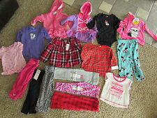 NEW LOT/16 BABY GIRL CLOTHING CARTERS ROXY FALL WINTER HOODIES TOPS PANTS + 18M
