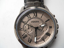 Fossil men's chronograph Quartz,battery & water resistant Analog watch.Fs-4766