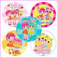 Lalaloopsy Stickers x 5 - Favours/Party Rewards - Birthday Party - Girl's Party