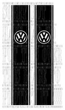 VW logo 4X4 Pick up TRUCK AMAROK VW CADDY VERTICLE Side stripe Vinyl BUG CAMPER