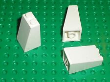 3 x LEGO White slope brick ref 3684 / set 10212 8089 7186 10123 6541 7994 4997..