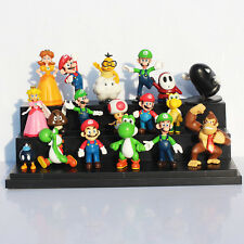 18pcs Super Mario Bros yoshi PVC Action Figures toy