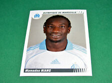 N°258 NIANG OLYMPIQUE MARSEILLE OM PANINI FOOT 2009 FOOTBALL 2008-2009