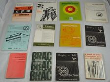 Lot of 12 Vintage Manuals Learning Peabody Leadership Audiovisual Behavior CC4G6
