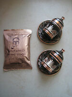 Traditional Handmade Copper Coffee&Espresso Cup Saucer Porcelain Turkish Coffee