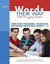 Words Their Way with Struggling Readers : Word Study for Reading, Vocabulary,...