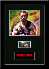 Predator - Framed 35mm Mounted Film cells memorabilia Arnold Swarzenegger